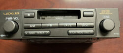 2004-2007 LEXUS GX470 MARK LEVINSON RADIO RECEIVER CASSETTE PLAYER 86120-60441 $79.00