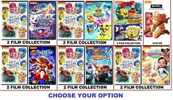 Nickelodeon Kids DVD#x27;s 15 Options to choose from with Free Fast Shipping $12.00