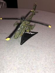 "ah 64 apache Helicopter realtoy Die Cast Excellent Condition 6"" Long $17.99"