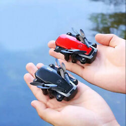 LF606 Mini RC drone with 4K 5MP HD Camera Foldable drones Altitude Hold D2 $29.98