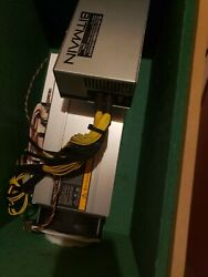 BITMAIN AntMiner S9 14TH with power supply and soundproofing case and exhaust $81.00