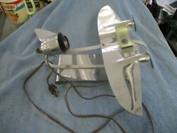 Rare orig Art Deco Ray A. Schober 1938 Premium Prdcts Mfg Co Airplane lamp base $549.99