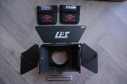 DSLR LanParte Matte Box  MB-01 4 X 4 Rod Swing Away with Cavision Glass Filter $189.00