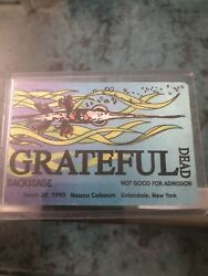 Grateful Dead Backstage Pass March 29 1990 Nassau Coliseum New York