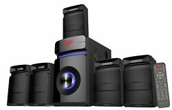 Rockville HTS45 600w 5.1 Channel Bluetooth Home Theater Audio SystemSubwoofer $134.95