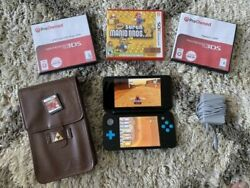 Nintendo 2DS XL Handheld System w 4 Games Case and Charger - Black  $79.00