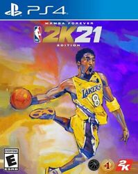 NBA 2K21 Mamba Forever Edition PlayStation 4 New Video Game PS 4 $99.99