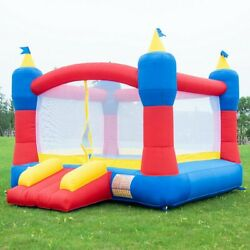 Bounce House Castle Inflatable Bouncer without Blower Outdoor Kids Fun Play Toy $183.19