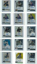 2020 Bowman Sterling Baseball Rookie Prospect Auto#x27;s Pick your player auto $39.99