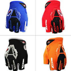 Outdoor Cycling Bicycle MTB Bike Gloves Sports Racing Riding Half Finger Gloves $11.99