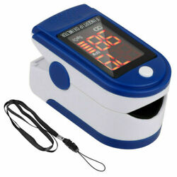 Pulse Oximeter Blood Oxygen Saturation SpO2 Heart Rate O2 Patient Monitor USA $10.85