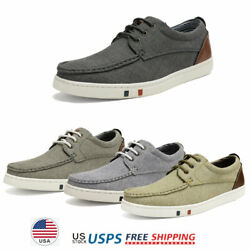 Men#x27;s Boat Shoes Lace up Casual Shoes Dress Shoes Fashion Sneakers $23.75