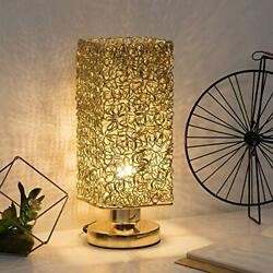 HAITRAL Bedside Table Lamp Stylish Nightstand Lamp Desk Lamp Bedroom Office $20.99