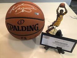 Bold Incredibly Signed Kobe Bryant Autographed Basketball Panini Authenticated $5899.00
