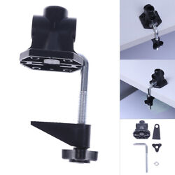 DIY Fixed Desk Lamp Clip Fittings Screw Camera Flash Holder Fit for Mic Stand $4.64