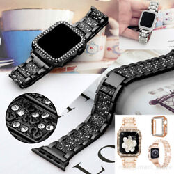 Bling Stainless Steel Wrist Bracelet Watch Band for Apple watch Series 5 4 3 2 6 $14.99