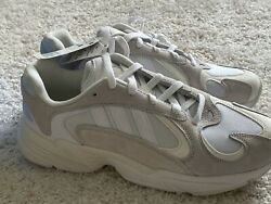 NEW adidas Yung 1 Cloud White Men#x27;s Shoe Sz 11 Yeezy Waverunner B37616 $69.99