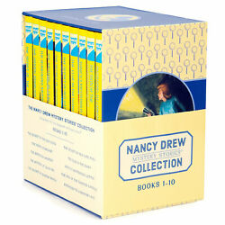 The Nancy Drew Collection Mystery Stories Books 1 10 Book Box Set Carolyn Keene $37.97