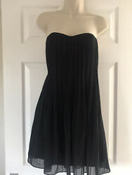 MYER AUSTRALIA DESIGNER cocktail Evening Dress Black SIZE 14 New With Tags