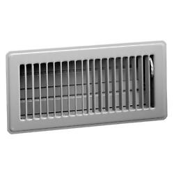 American Metal Products 413W4X10 4quot; X 10quot; White Steel Floor White 4 x 10 $17.25
