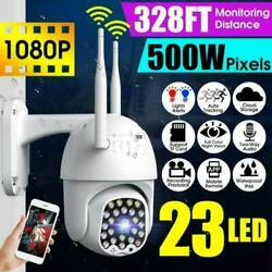 1080P Home Security Camera Outdoor Wireless Night Vision IP CCTV Pan Tilt IP66 $49.15