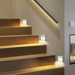 LED Motion Sensor Lights Wireless Night Light Battery Cabinet Stair Lamp Home US $9.45