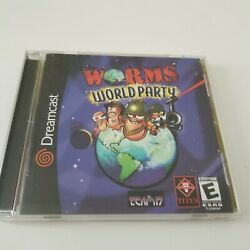 Worms: World Party For Sega Dreamcast Complete. CLEAN DISC. TESTED. $29.00
