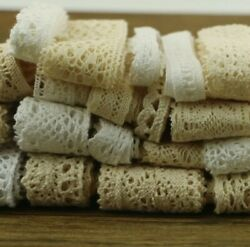 10 Yards 10 Series Of Garment Sewing Ornaments Ribbon Lace Crochet Cotton DIY $4.89