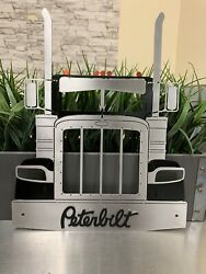 Peterbilt Truck Wall Metal Art Decor $60.00