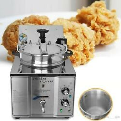 Chicken Express Commercial Home 3000W Electric 16L Pressure Deep Fryer