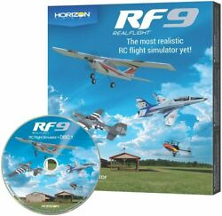 RealFlight 9 RF9 RC Airplane Helicopter Flight Simulator Software Only RFL1101 $99.99