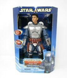 Jango Fett Electronic Battling 12quot; STAR WARS Saga Collection 1 6 Scale $78.49
