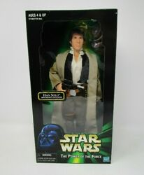 Han Solo Endor 12quot; STAR WARS 1 6 Scale Power of the Force MIB $36.99