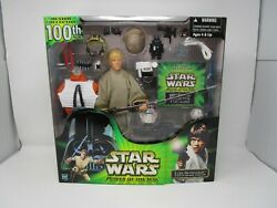 Luke Skywalker 100th Figure 12quot; STAR WARS 1 6 Scale Power of the Jedi MIB $52.49