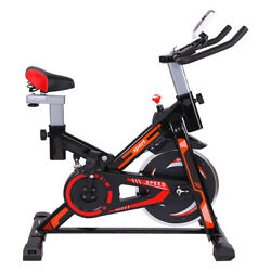 Stationary Bike Bicycle Cycling Fitness Gym Exercise Workout Machine Home Indoor $209.99