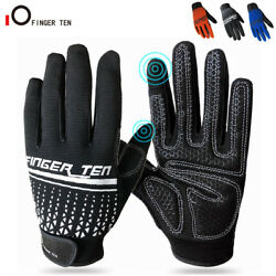 Full Finger Racing Cycling Gloves Men Gel Padded Bike Bicycle MTB Gloves M L XL $11.99