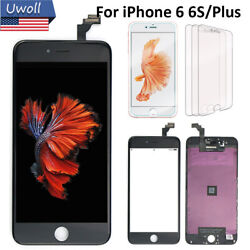 For iPhone 6 6S 6 6Plus Screen Replacement Display Digitizer 3* Tempered Glass $18.00