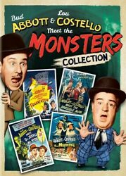 Abbott and Costello Meet the Monsters Collection New DVD 2 Pack Slipsleeve $14.98