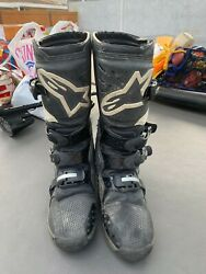 FOX MOTOCROSS ALPINESTARS boots Sz 10 Men's Fox Racing Motorcycle $129.99