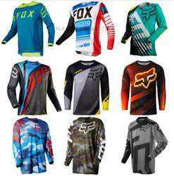 2020 Fox Motocross Jersey 9 Color Sports Off Road Clothing Quick Dry Function $15.99