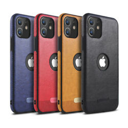 Leather Shockproof Case For iPhone 12 11 Pro Pro Max XS MAX XR 7 8 Plus Cover $7.88