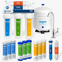 5 Stage Home Drinking Reverse Osmosis System PLUS Extra 7 Express Water Filters $39.99