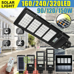 2020 New Solar LED Street Light Commercial Outdoor IP67 Area Security Road Pole