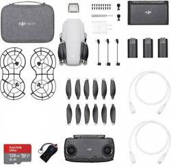 DJI Mavic Mini Fly More combo Drone with 2.7K Camera Pro Combo Bundle II $409.00