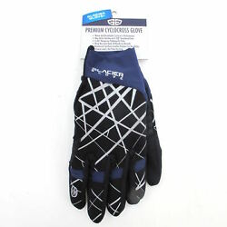 Glacier Mountain Bike MTB Road Winter Cyclocross Full Finger Gloves Pad Small $5.99