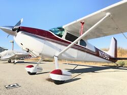 Cessna 180 Skywagon 1956 motors airplane single engine. $174500.00