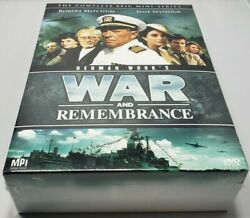 War and Remembrance The Complete Epic Mini Series DVD 2008 13 Disc Set $109.99