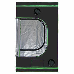48quot;quot;x48quot;quot;x80quot; Hydroponic Grow Tent with Observation Window and Floor Tray Indoor $76.98