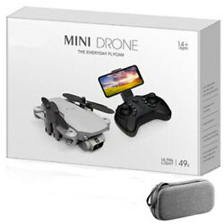 New 4k Drone HD Camera Foldable Quadcopter Selfie Christmas Gift $74.10