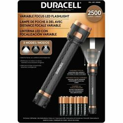 NEW Duracell 2500 Lumen High Power LED Flashlight AA Batteries Included $42.99